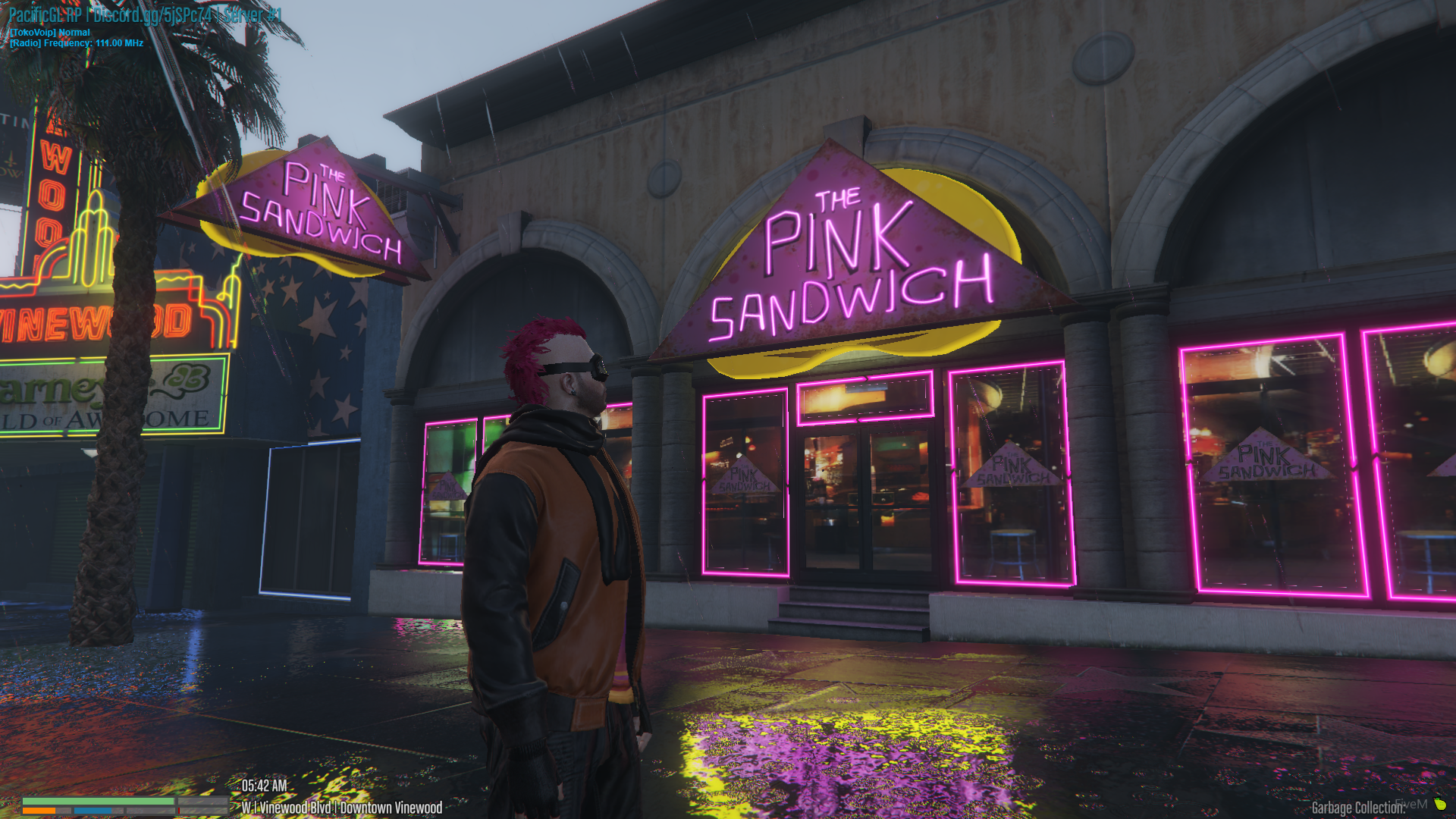 Tim at The Pink Sandwich